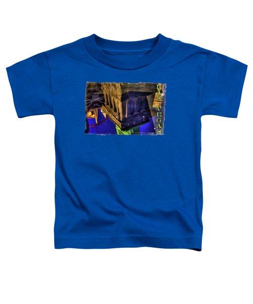 Statue Of Liberty Las Vegas Reflections Toddler T-Shirt