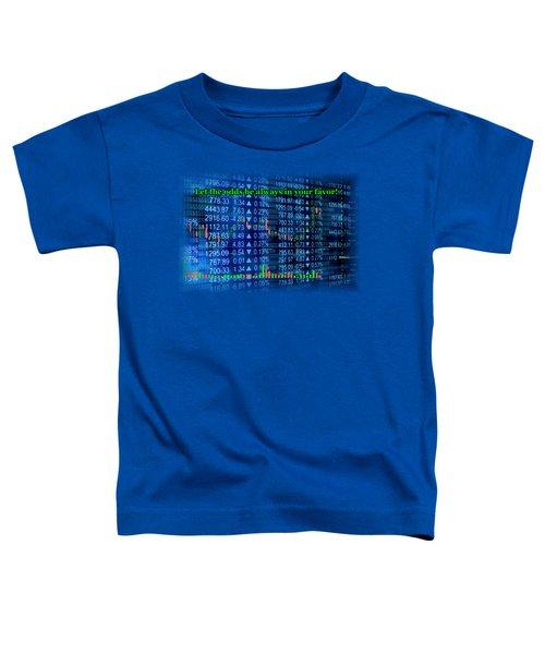 Stock Exchange Toddler T-Shirt by Anastasiya Malakhova