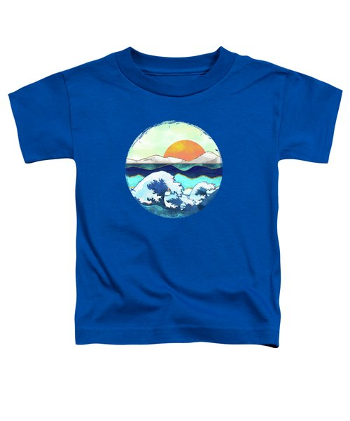 Stormy Waters Toddler T-Shirt by Spacefrog Designs