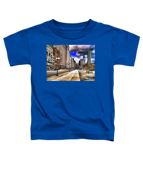 Streets Of Chicago Toddler T-Shirt