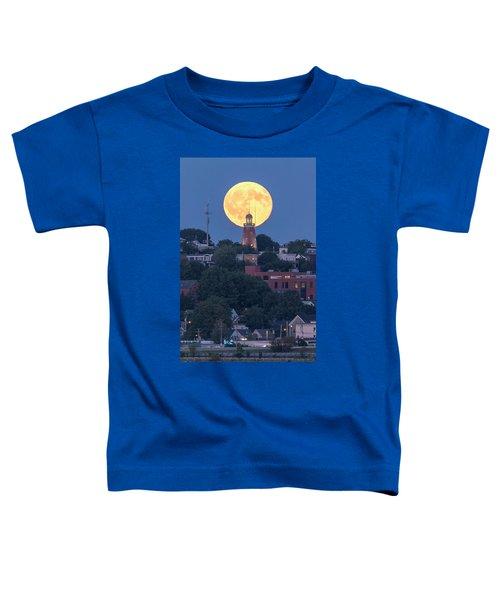 Sturgeon Moon Over Portland Observatory Toddler T-Shirt