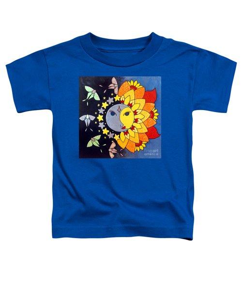 Sun And Moon Toddler T-Shirt