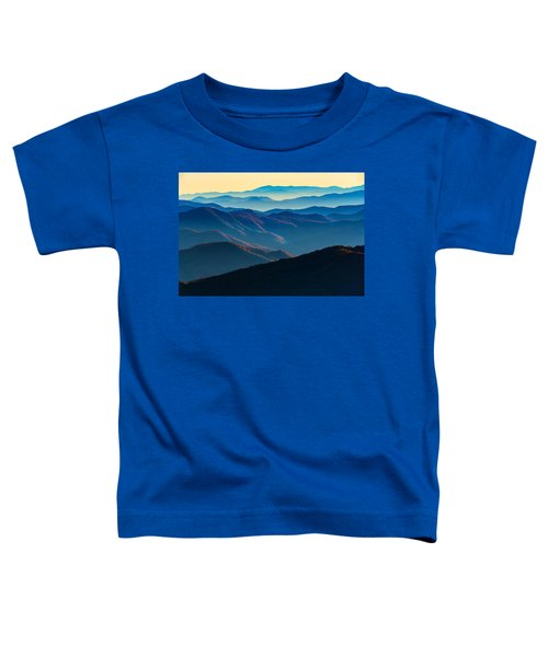 Sunrise In The Smokies Toddler T-Shirt