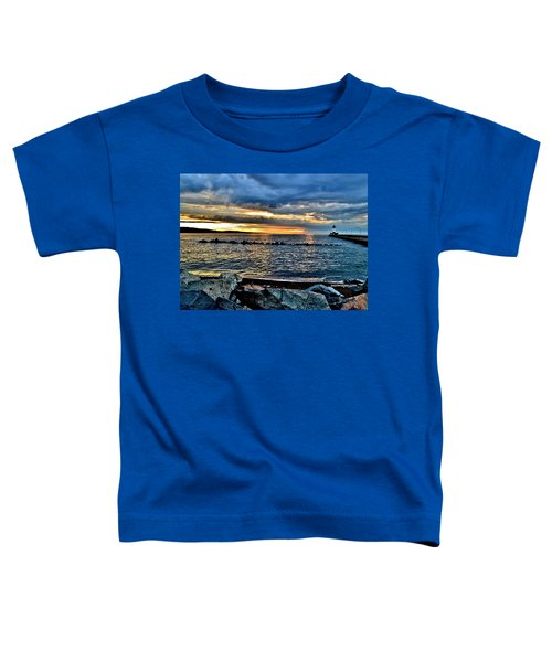 Sunrise On The Rocks Toddler T-Shirt