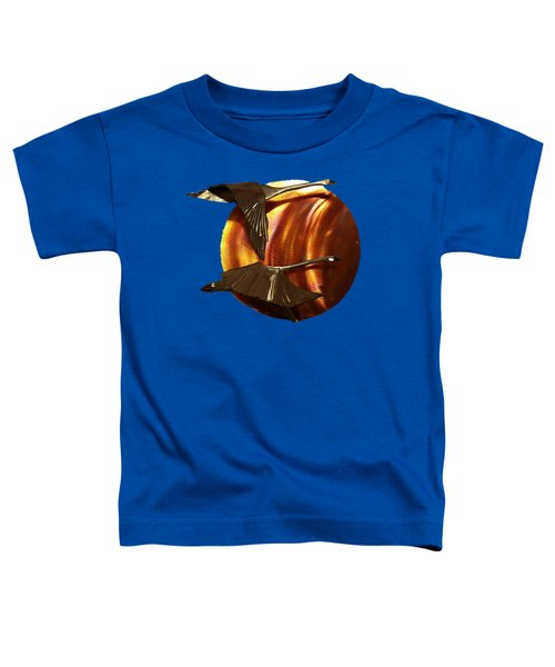 Sunrise Toddler T-Shirt by Troy Rider
