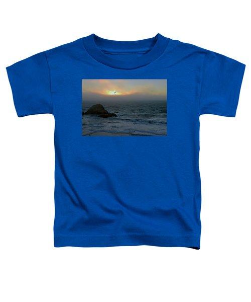 Sunset With The Bird Toddler T-Shirt