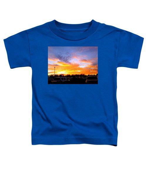 Sunset Forecast Toddler T-Shirt