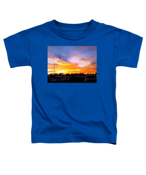Sunset Forecast Toddler T-Shirt