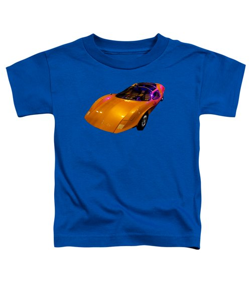 Super Car Orange Art Toddler T-Shirt