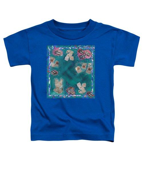 Surreal Lake Art And Poem Toddler T-Shirt