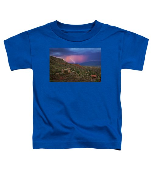 Sycamore Canyon Lightning With Little Daisy Toddler T-Shirt