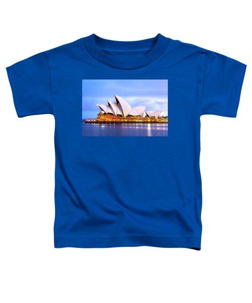 Sydney Opera House At Dawn Toddler T-Shirt