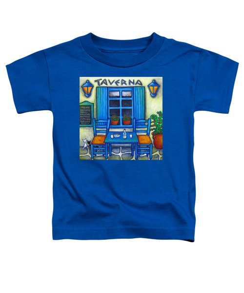 Table For Two In Greece Toddler T-Shirt