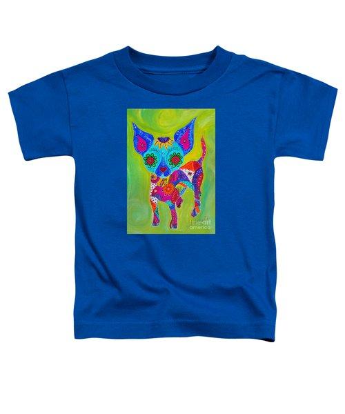 Talavera Chihuahua Toddler T-Shirt