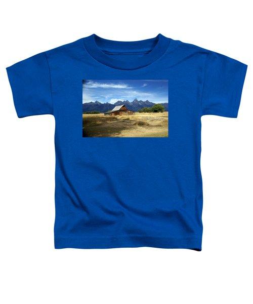 Teton Barn 3 Toddler T-Shirt