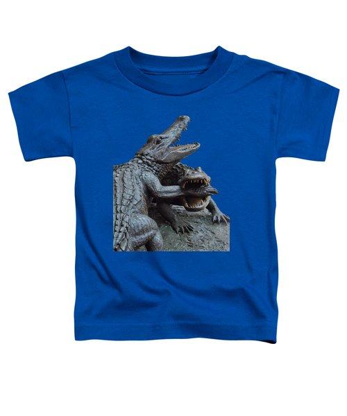 The Chomp Transparent For Customization Toddler T-Shirt