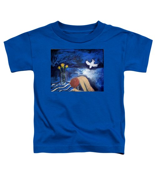 Toddler T-Shirt featuring the painting The Healing by Winsome Gunning
