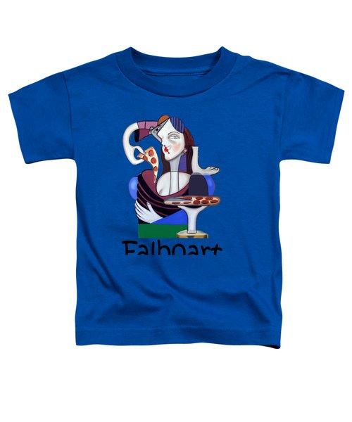 The Mona Pizza T-shirt Toddler T-Shirt