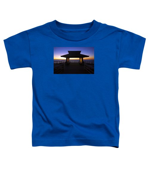 The Naples Pier At Twilight - 02 Toddler T-Shirt