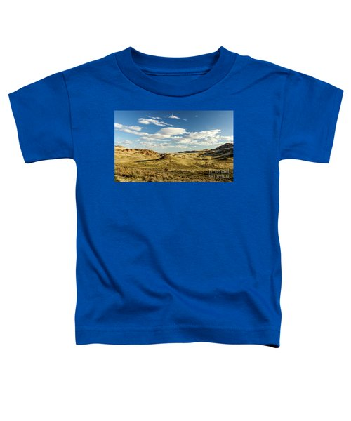 The Owyhee Desert Idaho Journey Landscape Photography By Kaylyn Franks  Toddler T-Shirt