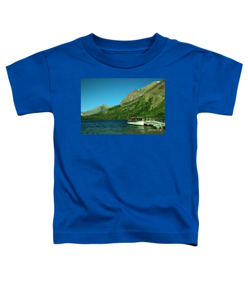 The Senopah Two Medicine Lake Glacier National Park Toddler T-Shirt