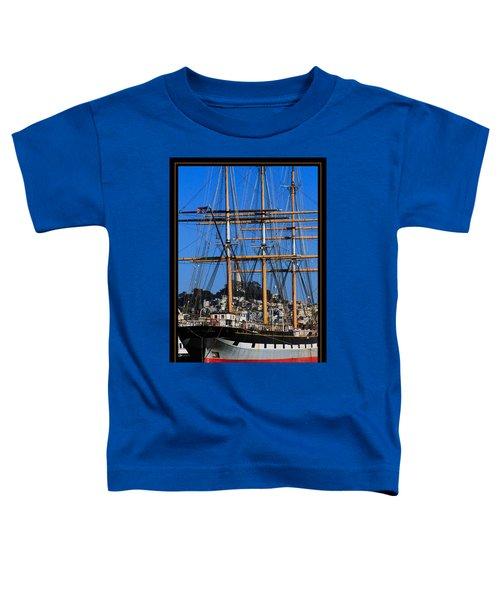 The Ship Balclutha Toddler T-Shirt