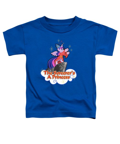 The Sorcerer's A Princess Toddler T-Shirt by J L Meadows
