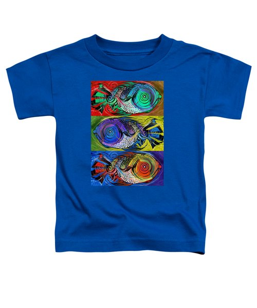 The Three Fishes Toddler T-Shirt