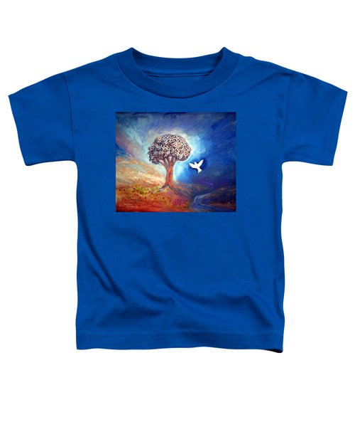 The Tree Toddler T-Shirt by Winsome Gunning