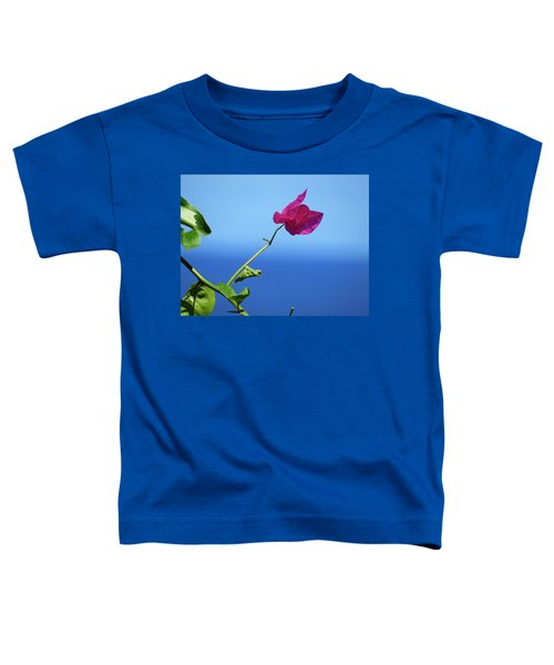The Tropical Bloom Toddler T-Shirt