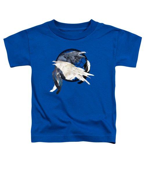 The White Raven Toddler T-Shirt