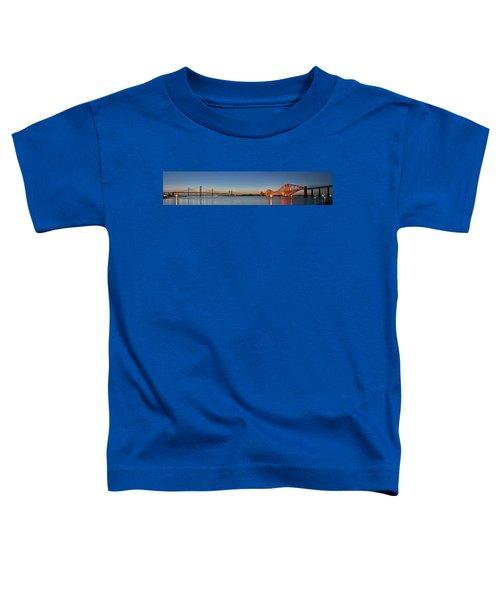 Three Forths At Dusk Toddler T-Shirt