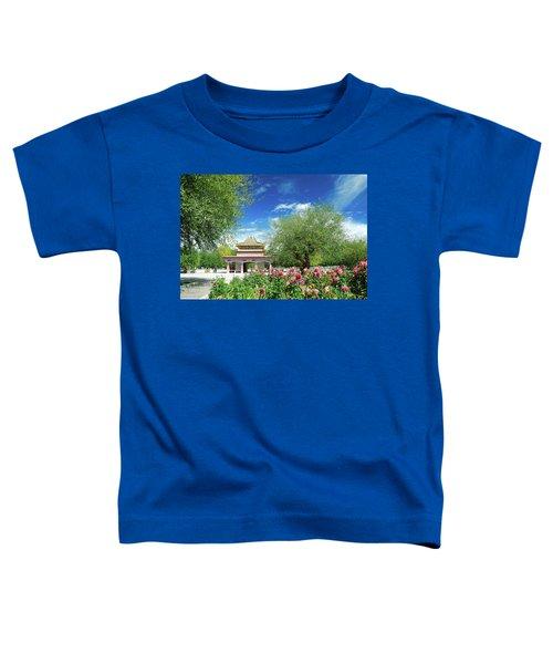 Tibet Scenery In Autumn Toddler T-Shirt