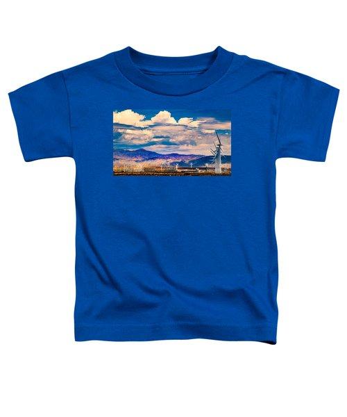 Tilting At Windmills Toddler T-Shirt