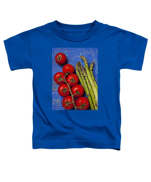 Tomatoes And Asparagus  Toddler T-Shirt