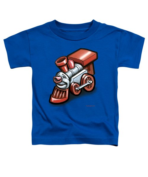 Toy Train Toddler T-Shirt