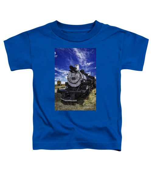 Train Kept A Rollin Toddler T-Shirt
