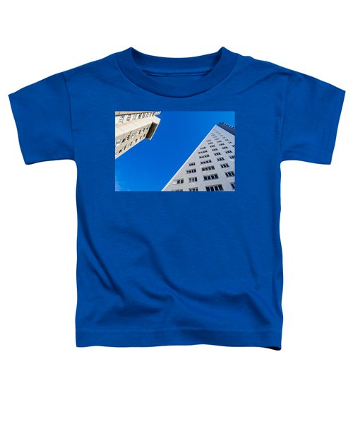 Triangle Modern Building Toddler T-Shirt