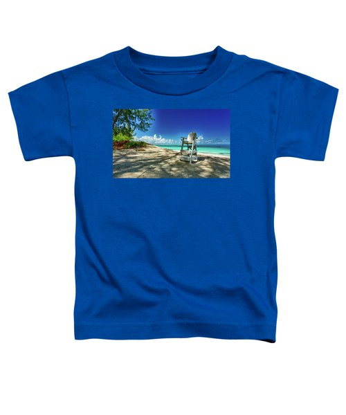 Tropical Beach Chair Toddler T-Shirt