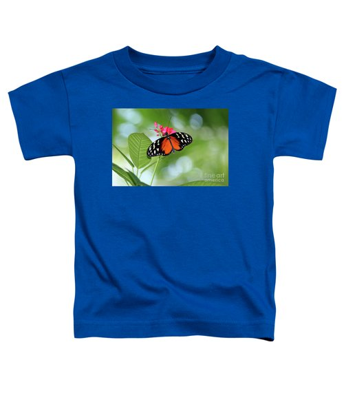 Tropical Hecale Butterfly Toddler T-Shirt