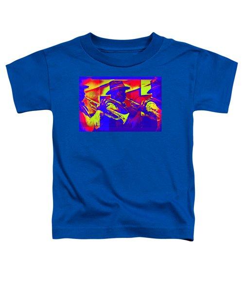 Trumpet Player Pop-art Toddler T-Shirt