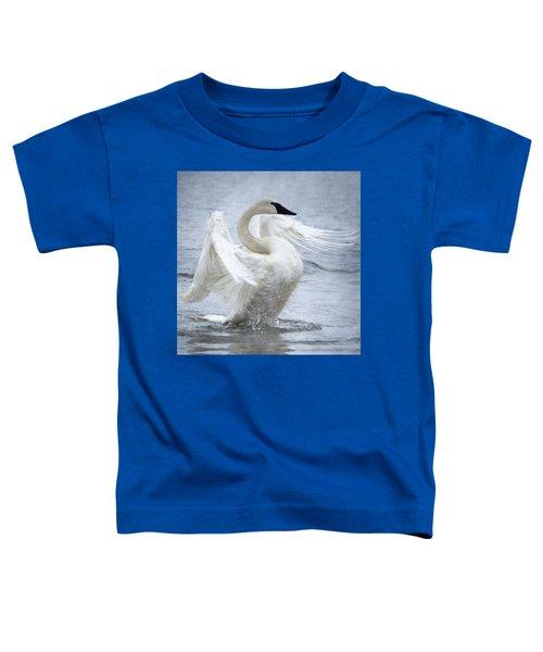 Trumpeter Swan - Misty Display 2 Toddler T-Shirt