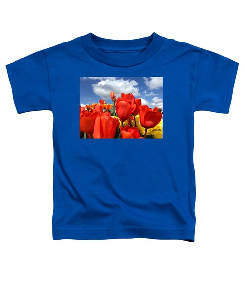 Tulips In The Sky Toddler T-Shirt