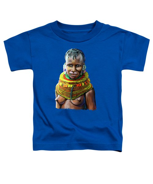 Turkana Girl Toddler T-Shirt