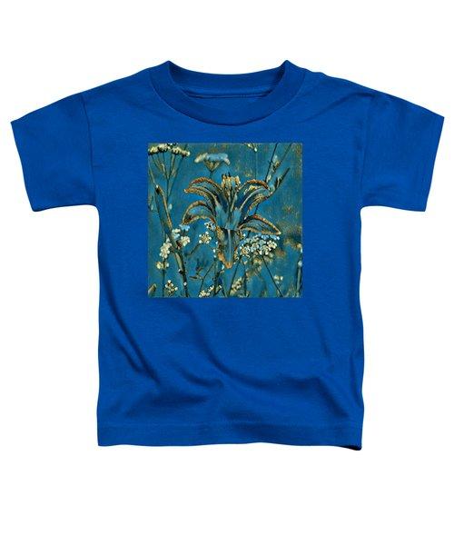 Turquoise Tigerlily  Toddler T-Shirt
