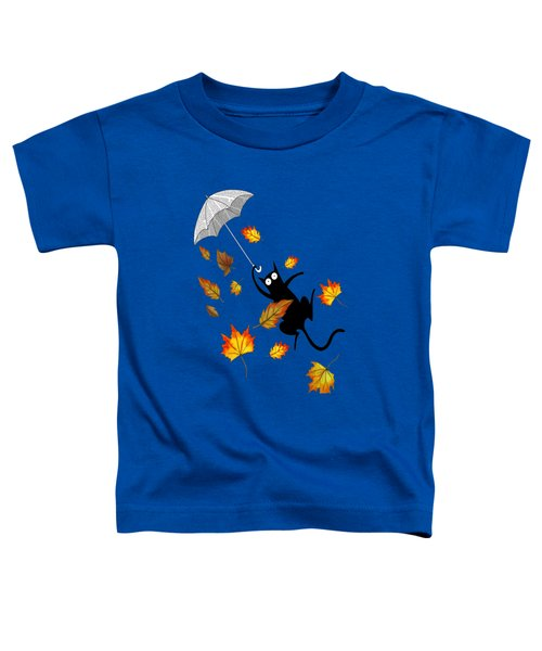 Umbrella Toddler T-Shirt by Andrew Hitchen