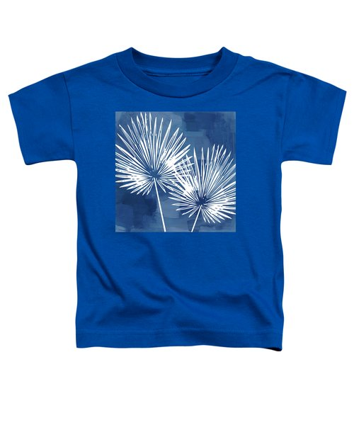Under The Palms- Art By Linda Woods Toddler T-Shirt