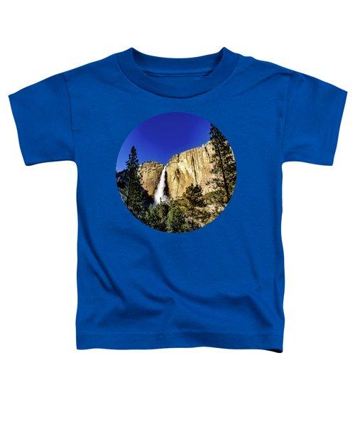 Upper Falls Toddler T-Shirt by Adam Morsa