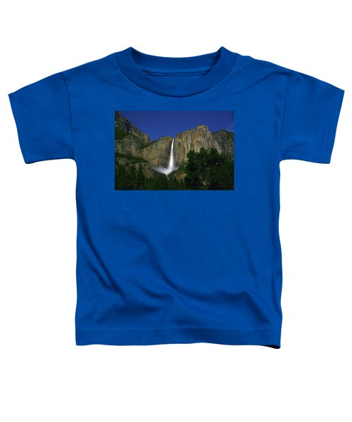 Upper Yosemite Falls Under The Stairs Toddler T-Shirt