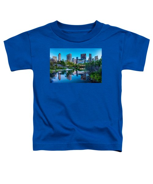 Urban Oasis Toddler T-Shirt by Az Jackson